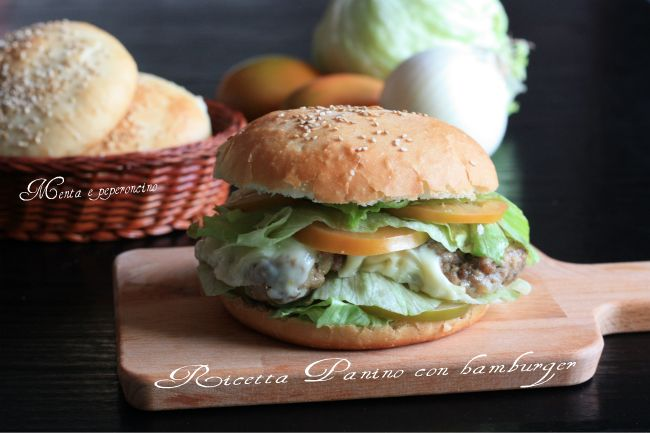 Ricetta Panino con hamburger