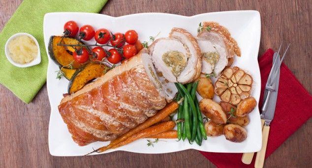 'Tis the season for mouth-watering pork crackling!  #christmas #xmas #roast #recipe