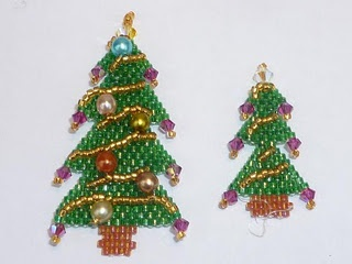 120 best bead peyote HOLIDAY images on Pinterest  Beading