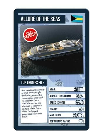 Top Trumps - World Famous Ships Card Game Preview 2