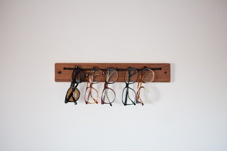 Eyeglasses Holder at the Egan House in Seattle, Photograph by Michael A. Muller | Remodelista