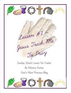 Free Jesus Teach Me to Pray Printables  March 19, 2013 By Jamerrill Stewart