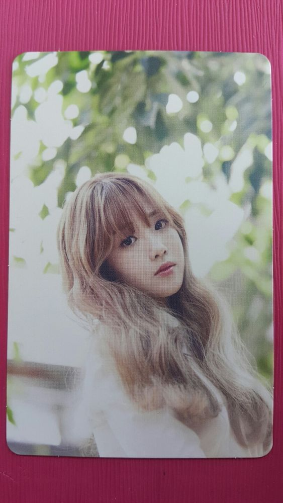 LOVELYZ JIAE Official Photocard #1 A NEW TRILOGY 2nd Album GRAVITY 지애