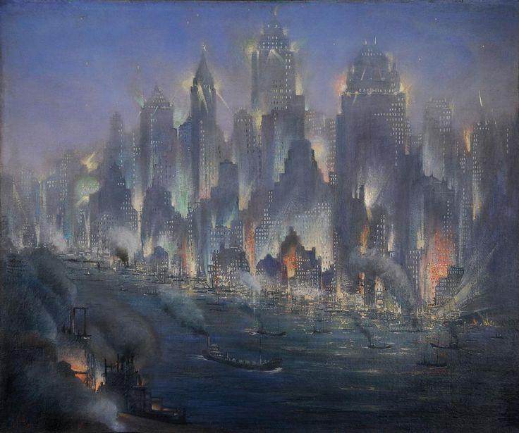 Gennaro Favai, New York, 1930 ca | Artribune