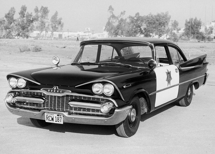 1959 Dodge Coronet Police Vehicle  Kevin would love to drive this lol