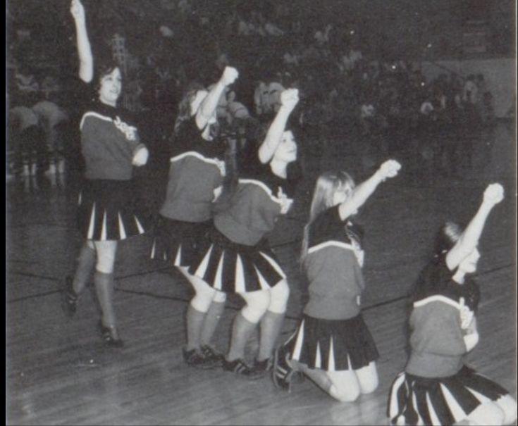 1975-1976 Varsity,    John Glenn High School,  Walkerton, Indiana.