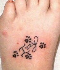Gonna get one like this with my dogs name in the middle