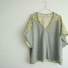La blouse kimono bicolore (et PLEIN d'autres DIY !! )