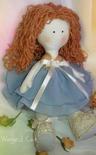 Кукла Большеножка. Ручная работа