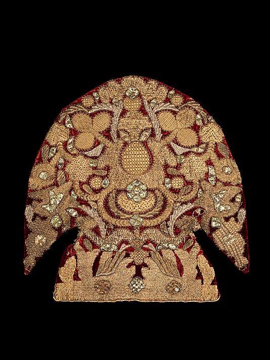 Headdress Date: 19th century Culture: Russian