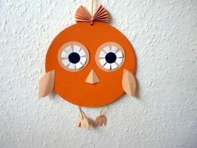 Halloween craft: Halloween owl   http://www.thecraftideas.com/halloween/halloween-craft-halloween-owl