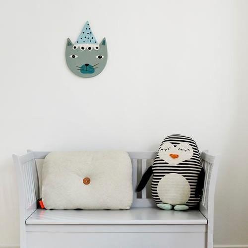 OYOY Pingo Penguin Cushion | Pingo Penguin Cushion | OYOY