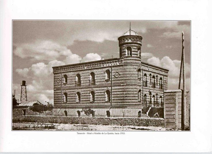 Hotel de la quinita fotos antiguas de taranc n pinterest - Hotel la garriga de castelladral ...