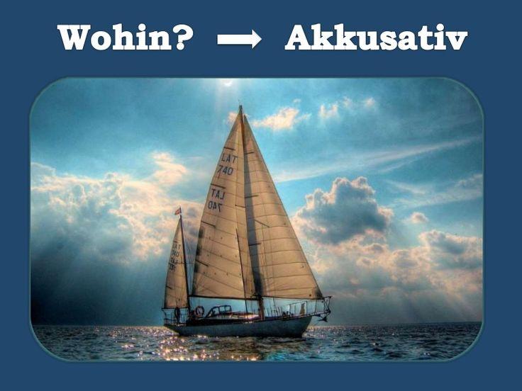 WOHIN?  Teil 2  in DIE, in DEN, INS + Orte - AKKUSATIV -   Menschen A1 - Lek. 8 Wie oft? Adjektivdeklination