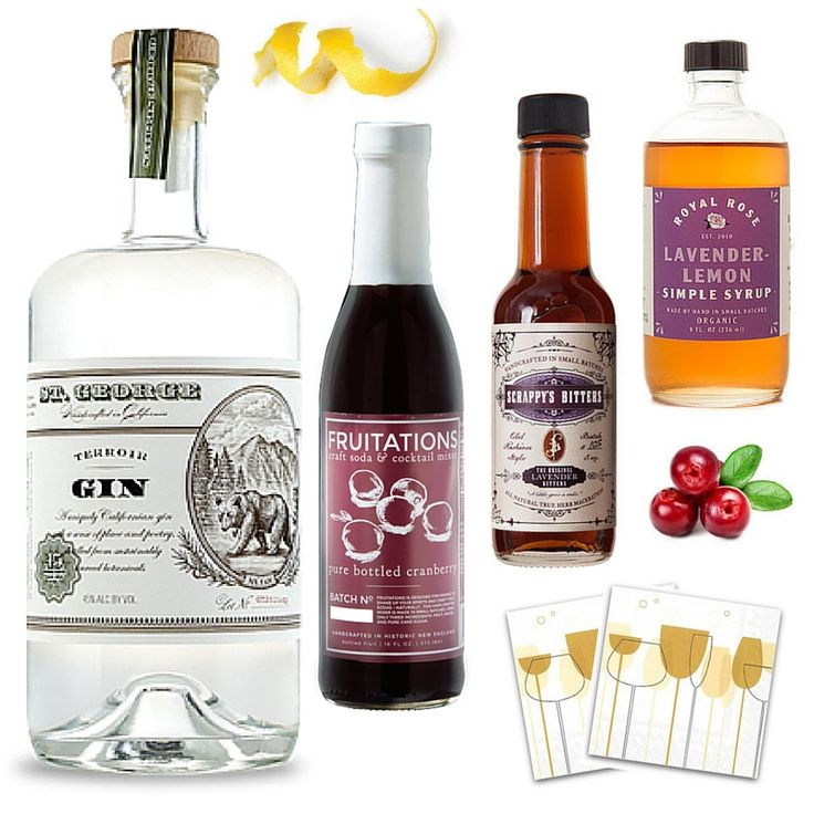 St. Snowfall & the Lusty Lady Cocktail Kit   Crafted Taste Cocktails