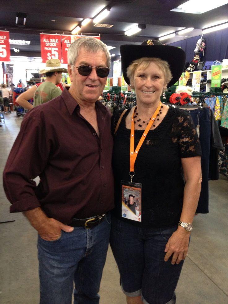 Lindsay and Shirley at the TCMF 2013 #TCMF2013, #lindsaybutler, #australiancountrymusic, #australia