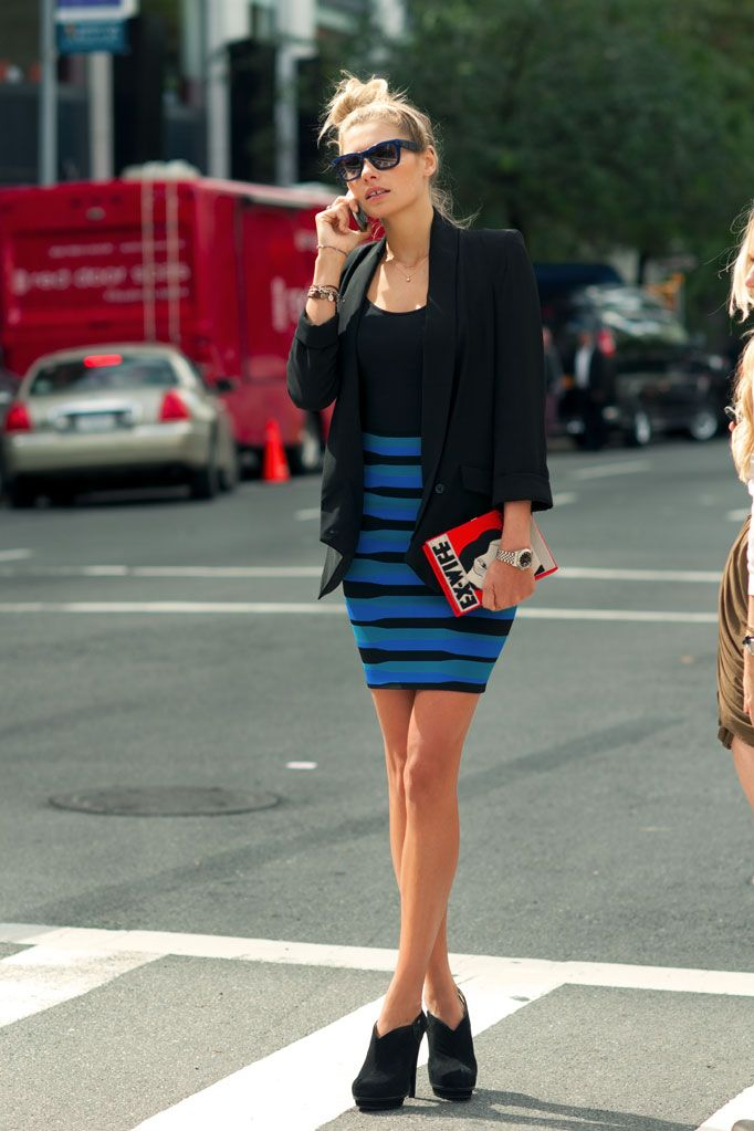 black and blue. #NMFallTrends