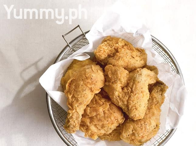 Fried Chicken with Five Spice-Plum Seasoning Recipe
