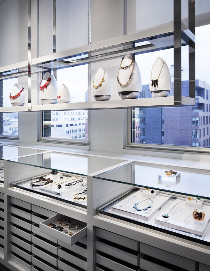 Marc by Marc Jacobs showroom by Jaklitsch / Gardner Architects, New York store design