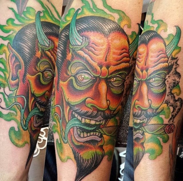 42 Best Images About Tattoos On Pinterest: 42 Best Images About Devil Tattoos On Pinterest