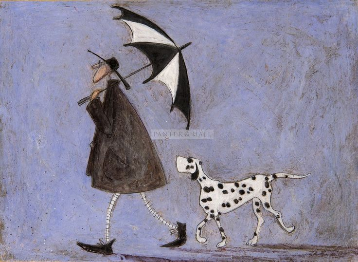 Sam Toft Walking Out with Hattie