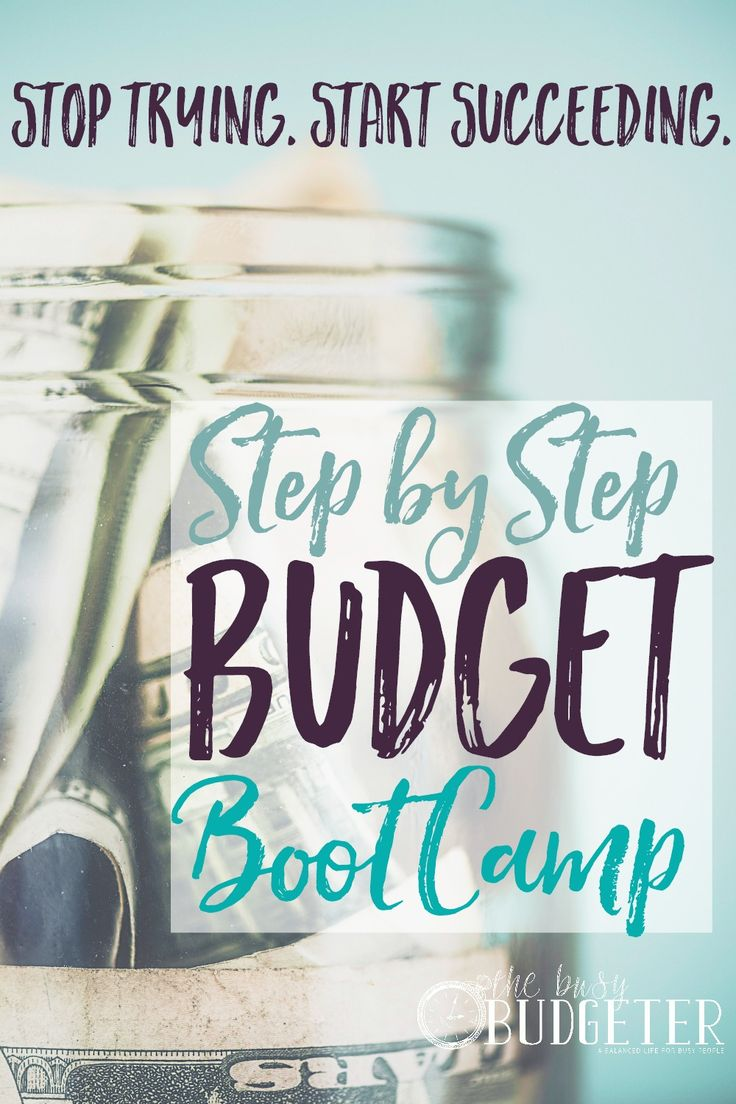 90 Day Budget Boot Camp... This is the first time EVER I was able to actually stick to a budget. It's free too which is insane to me. I would have paid for this! When I rwad budget advice or money saving advice, my eyes glaze over. I love Dave Ramsey, but even that was tough for me. This is the first time I actually made a budget and stuck t it month after month! We paid off over $30,000 in debt with this!