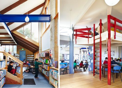 the architecture of early childhood: A surving relic of the 1900s progressives: Preshill School