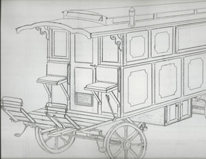 Gypsy Wagon Plans by Laurent
