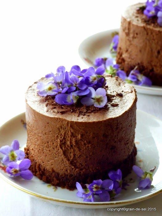 Mousse au Chocolat - Törtchen... mit Schmiss