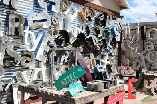 Five Best Places for Industrial Salvage Shopping in Metro Phoenix.