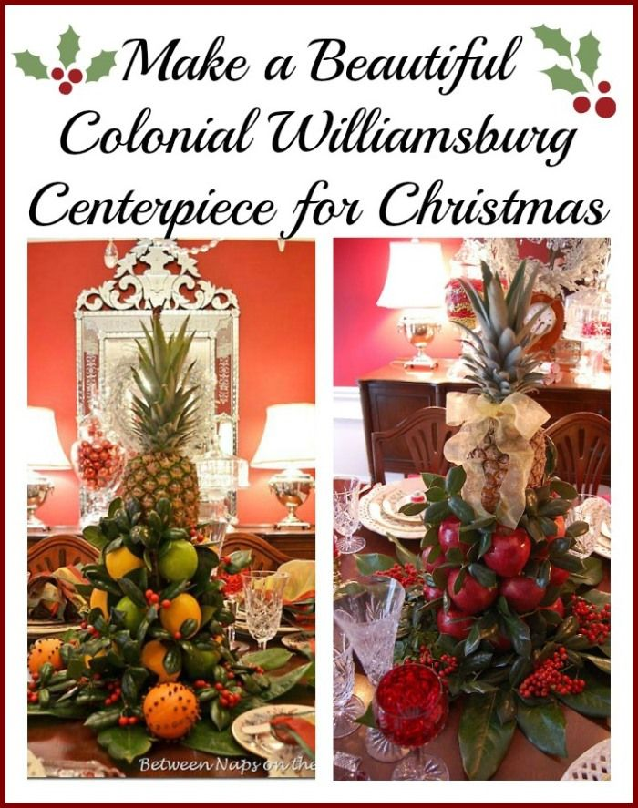 20 ways to make your christmas merry bright make your for Williamsburg craft house catalog