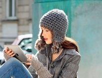 Схемы вязания шапок крючком на Verena.ru