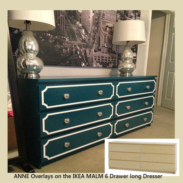 Cute O uverlay Kit for IKEA MALM drawer long dresser