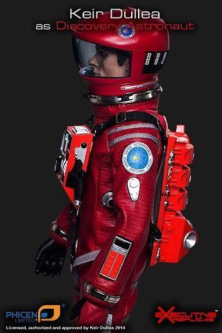 Executive Replicas 1/6 『2001年宇宙の旅』 キア・デュリア ディスカバリー アストロノーツ(レッド) フィギュア *予約…