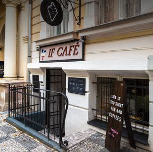 If Cafe, fantastic french patisserie by chef IVETA FABEŠOVÁ