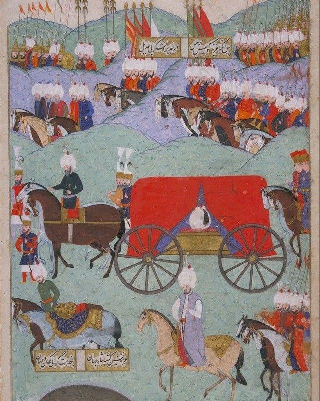 Kanuni Sultan Süleyman'ın cenaze töreni 1566. The funeral of Sultan Süleyman the Magnificent 1566., 2020 | Türk sanatı, Sultan, Minyatürler
