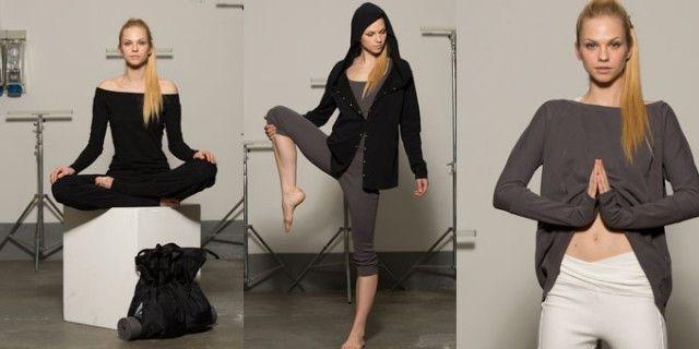 Per chi ama lo Yoga e il Pilates arrivano importanti novità fashion. Maglia, t-shirt, pantaloni di Dimensione Danza.http://www.sfilate.it/209670/yoga-pilates-sempre-piu-moda-glamour-dimensione-danza
