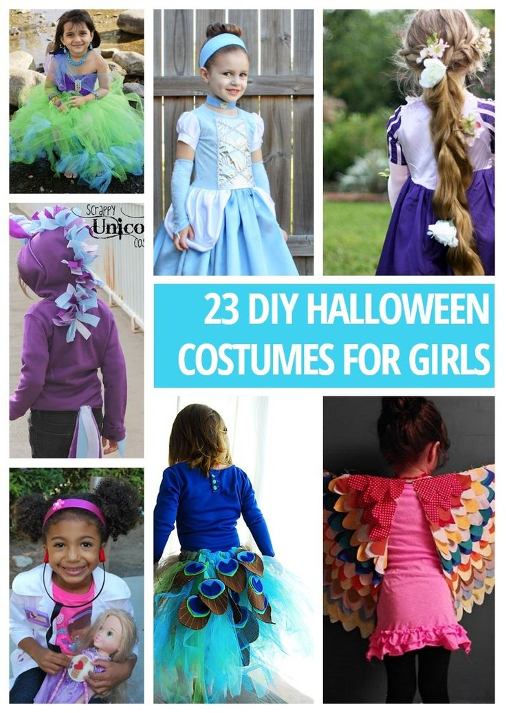 23 DIY Halloween Costumes For Girls