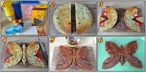 Gâteau Papillon                                                                                                                             Plus