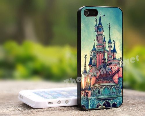 iPhone 5 s cas  Château DisneyiPhone 5 c cas par ThePhoneCase, $9.99