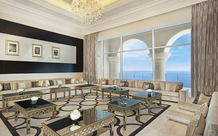 Royal Suite at Waldorf Astoria Dubai Palm Jumeirah, UAE | There's nothing modest about any of these.