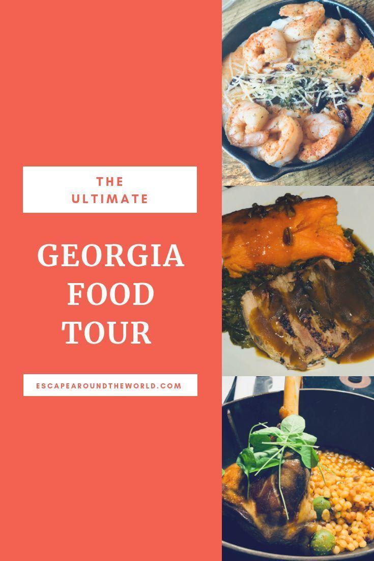 Georgia Food Tour 2018 Escape Around The World Georgia Food Food Tours Food