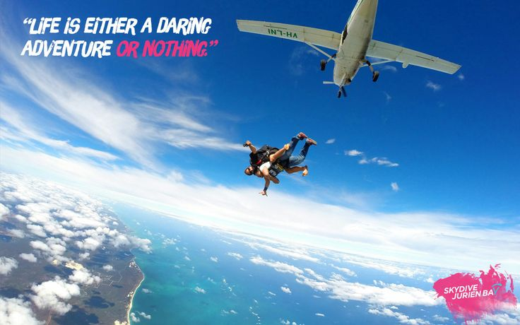 Inspirational desktop wallpaper. Skydive Jurien Bay. Perth, Western Australia.