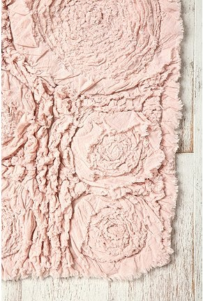 UrbanOutfitters.com > Frayed Roses Bath Mat. perfect for my guest room!Bathroom Design, Urbanoutfitters, Rose Bath, Urban Outfitters, Beds, Pale Pink, Baby Girls Room, Pink Rose, Bath Mats