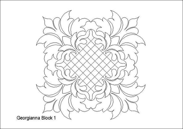 Georgianna Block 1 by One Song Needle Arts