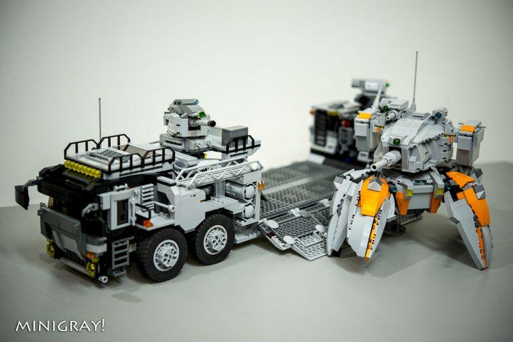 Walker mech 2.0 | by MiniGray!