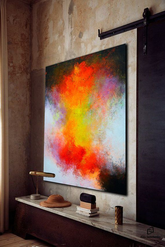 Largewall Art Original Abstract Painting For Decor Contemporary Wall Modern Extra Large On Canvas