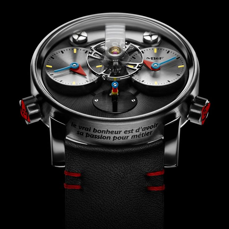 A MB&F apresenta o fruto de sua nova colaboração com o designer francês Alain Silberstein, o LM1 Silberstein.