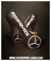 Talon mercedes amg c63 gt shoes custom personnalise bam basket