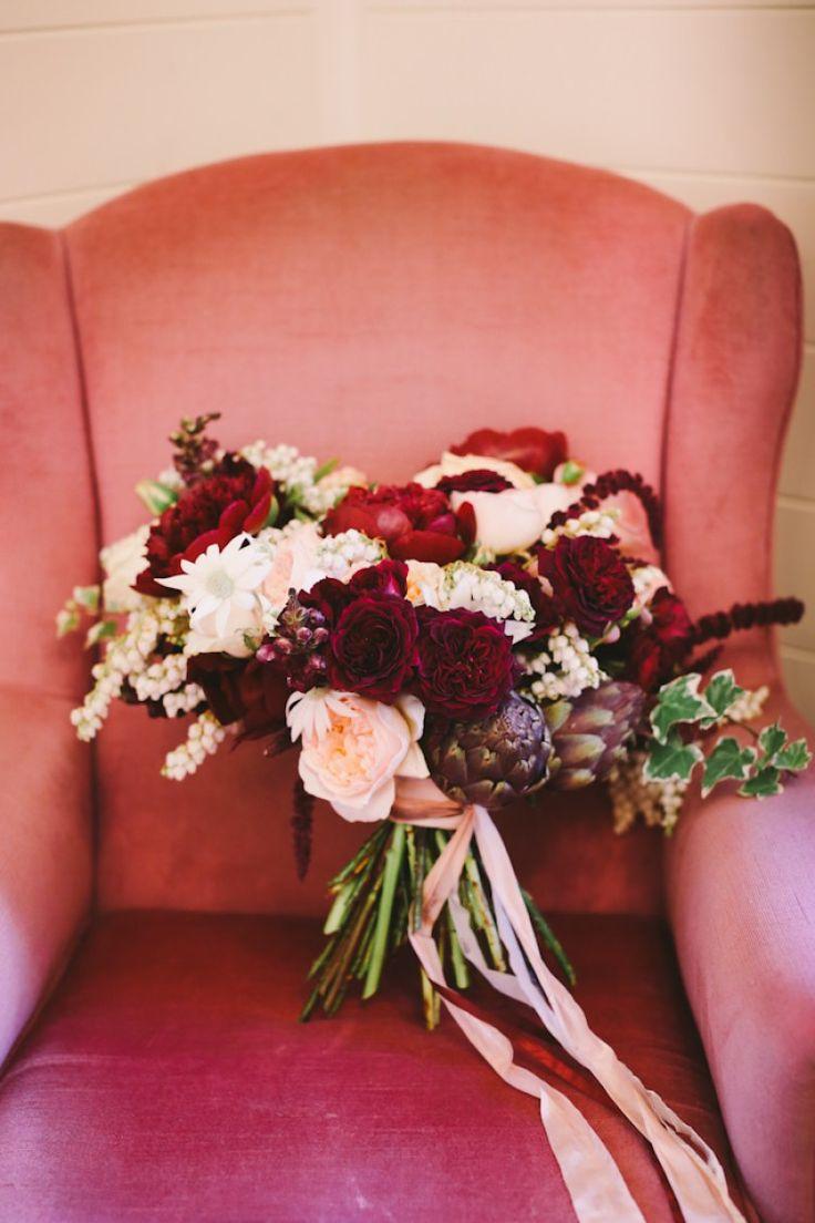 10 Red Wedding Bouquets - KnotsVilla